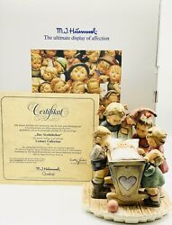Hummel Rock-a-bye Hum 574 Tmk8 New In Original Box With Coa