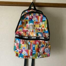 Lesportsac It's Small World Disney Collaboration Backpack
