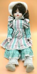 Schmid Porcelain 17 Doll Musical Oh What A Beautiful Morning 560-036m