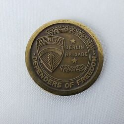 Berlin Brigade Excellence In Marksmanship Army Challenge Coin