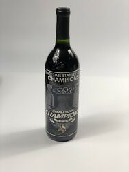 2009 Pittsburgh Penguins Stanley Cup Champions Team Bottle Signed Crosby Malkin