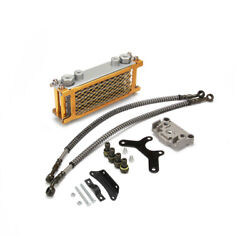 Universal Motorcycle Oil Cooler Cooling Radiator For 125cc 140cc Dirt Bike