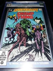 🔥 Swamp Thing 50 - 1st App Justice League Dark Show Tv - Alan Moore Story