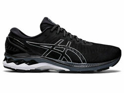 Asics Gel-Kayano 27 Black Pure Silver White Mens Road Running Shoes 1011A767-001 $130.00