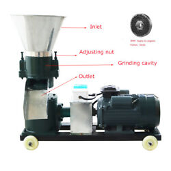 Top-grade 220v 4hp 3mm Chicken Feed Pellet Mill Machine For Farm Animal Feeding