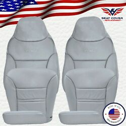 2000 2001 Ford Excursion Limited Xlt Leather Full Front Package Seat Covers Gray