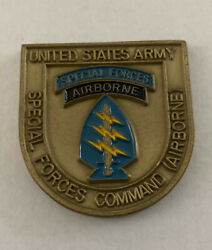 Special Forces Command Airborne Commanding General Excellence Coin B18
