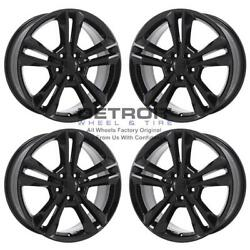 19 Dodge Charger Awd Gloss Black Exchange Wheels Rims Factory Oem 2410 2011-...