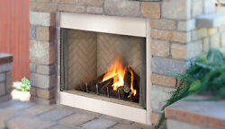 Superior 36 Polaris Outdoor Vent Free Fireplace White Stacked Ng Clearance Sale
