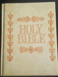 Vintage Holy Bible King James Red Letter Reference Edition Family 1965 Royal Pub