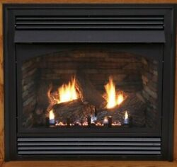 Empire White Mountain Vail Vent Free Fireplace Premium 36 Ip Natural Gas