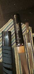 Ww2 Japanese Samurai Suicide Knife  Very High-end Knife Collectible Antique