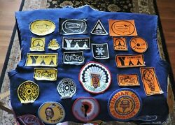 Ymca Indian Guide Leaders Vest With Patches