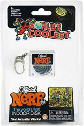 World#x27;s Coolest Official Nerf Disc Keychain