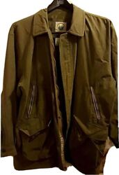 Forest Club By Rainforest Mens Xl Green Lined Many Pockets New Without Tags