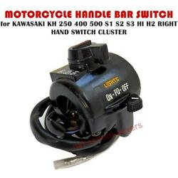 Motorcycle Switch Cluster Kawasaki Kh 250 400 500 S1 S2 S3 Hi H2 Right Hand