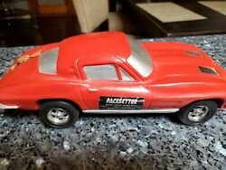 Pacesetter Decanter 1963 Corvette Coupe Red And Silver 11 Kontinental Usa