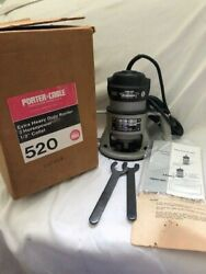 Porter Cable Extra Heavy Duty Router 520 Usa Made New/old Stock