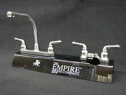 Rv Marine Mobile Home Parts Kitchen Sink And Bathroom Lav Faucet Combo Brushed