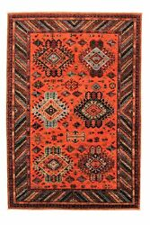 Hand Knotted Super Fine Red Kazak Best Wool 293x202cm Area Rug Carpet 9and0396x6and0396ft