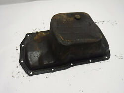 Jeepster Commando Dauntless V6 67-71 Factory Oil Pan Flawed See Ad