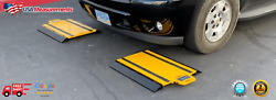 17x28 Portable Truck Scale Axle Scale Wheel Weigher Vehicle Scale Four Pads
