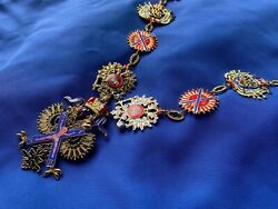 Order Of St.andrew Firstcalled Chain Set Russian Imperial Award №1 High Quality