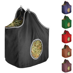Derby Originals Large D-ring Canvas Horse Hay Bag With 6 Month Warranty