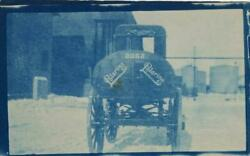 Three Cyanotype Photographs Of A Standard Oil Co. Truck Containing Polarine