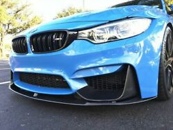 Performance Carbon Front Bumper Lip Spoiler With Aprons For M3 F80 M4 F82 F83