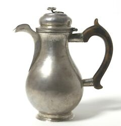 Silver Coffee Pot. Russian Kostroma The Turn Of The 17-18th Centuries.