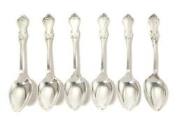 Silver Dining Spoons 6 Pcs. Pattern Olga. Sweden Stockholm Year 1954 Cgh