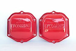 Lycoming Oem Factory - Red Gloss Powder Coat 0-320 Engine Rocker Valve Cover 2
