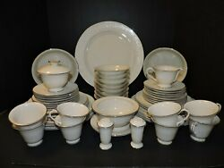 Carillon Fine China Lyric Made In The U.s.a. 6 Piece Setting For 8 Plus The Ho