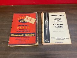 1938-1946 Ford Mercury Parts Approved Accessories Wholesale Catalog Book 720