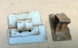 1969 And 1970 Mustang Coupe Rear Seat L Or R Upper And Lower Weld On Brackets