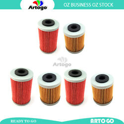 6pcs 1st+2nd Engine Oil Filter Fit Ktm 400 Sx / Mxc / Exc 2004 2005 Local Stock