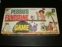 Pebbles Flinstone Game Game Transogram Games 1962 Contents Are Clean
