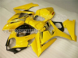 Yellow Abs Injection Mold Fairing Fit For Suzuki 2007 2008 Gsxr 1000 K7 Abs S05