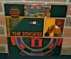 The Strokes - Room On Fire Ltd Import Flame Color Vinyl Lp + Dl New And Sealed