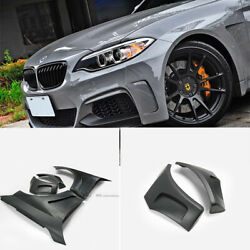 For Bmw F22 Manhart Style Wide Body Kit Frp Front Fender 4pcs Mud Guards Addon