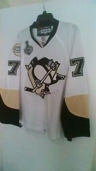 2009 Evgeni Malkin Pittsburgh Penguins Jersey 250 Patch Size 48 Great