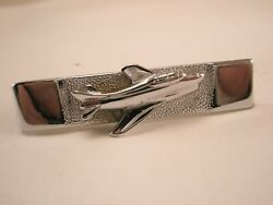 -small Jet Aircraft Vintage Swank Tie Bar Clip Plane Private Leer