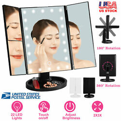 Makeup Mirror Vanity Mirror w Lights LED Magnifying Lighted Up Cosmetic Mirror