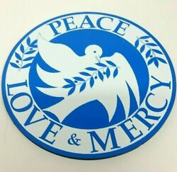 World Peace Mercy Love Dove Car Appliance Magnet New