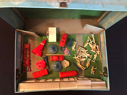 Vintage Marx 1968 Cape Kennedy Carry-all Action Playset - Case + Accessories