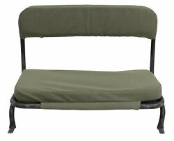 Jeep Flat Fender M38 With 7″ Short-back, Rear Seat Covers And Cushions