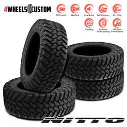 4 X New Nitto Trail Grappler M/t 35/12.5r17 121q Off-road Traction Tire