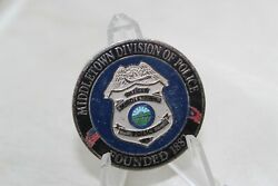Middletown Division Of Police Founded 1882 Challenge Coin