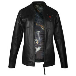 Musterbrand Black Star Wars Tie Pilot Limited Edition Leather Jacket Us Xs